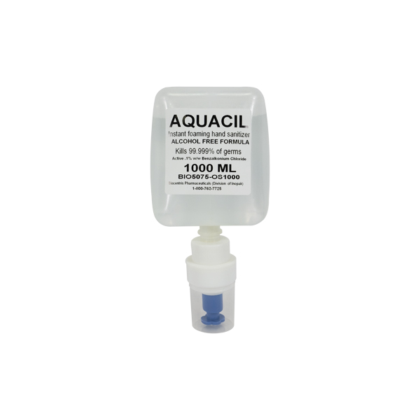 Aquacil Non Alcohol Hand Sanitizer Cartridge 1000ml