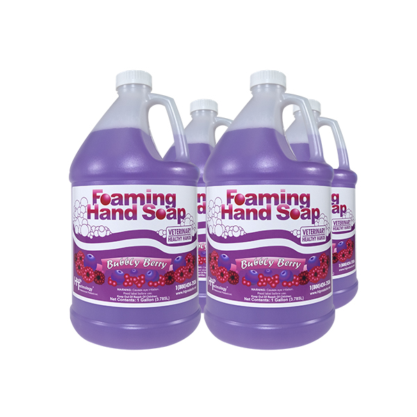 Veterinary Healthy Hands Bubbly Berry 4/1 Gallon Case