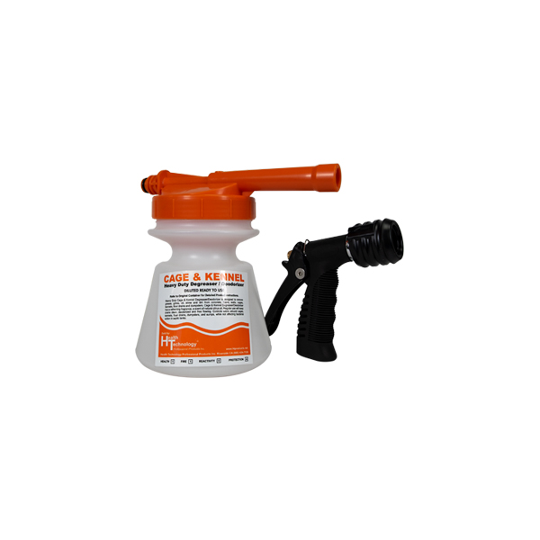 Commercial Hose End Foamer Orange 2oz