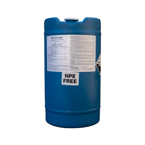 MG Chlorsan Bleach 15 Gallon Drum