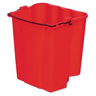 WaveBreak Mop Buckets Dirty Water Bucket Red