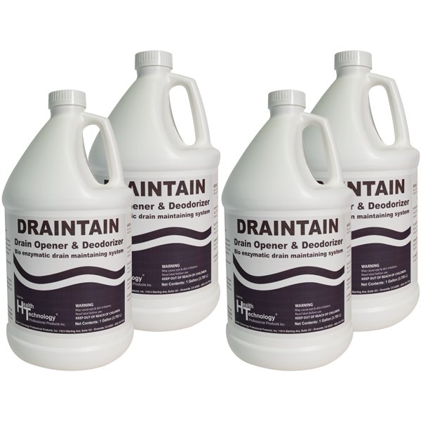 Draintain Drain Opener & Deodorizer 4/1 Gallon Case