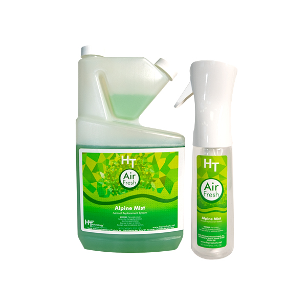 HT Air Fresh Alpine Mist Quart and Sprayer Kit