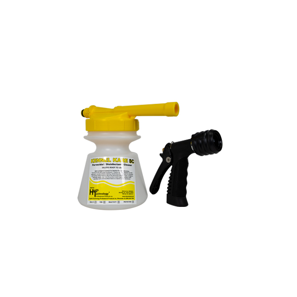 Commercial Hose End Foamer Yellow 2oz