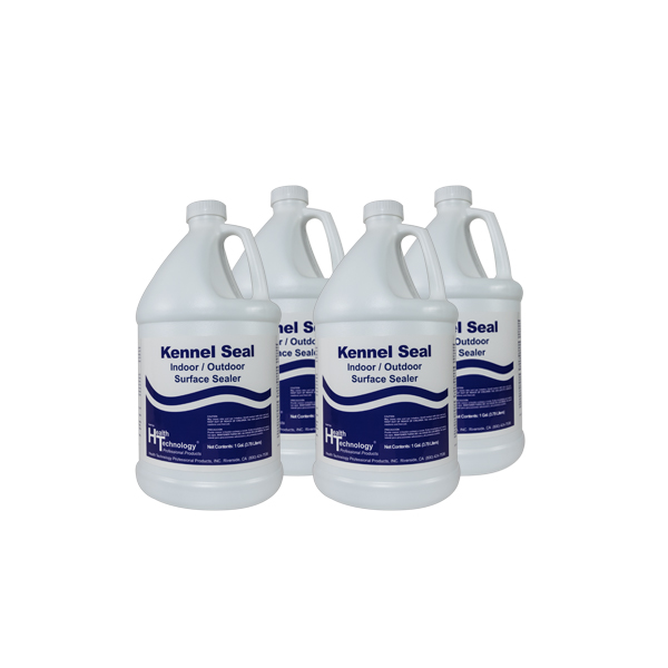 Kennel Seal Indoor/Outdoor Surface Sealer Case of 4 Gallons