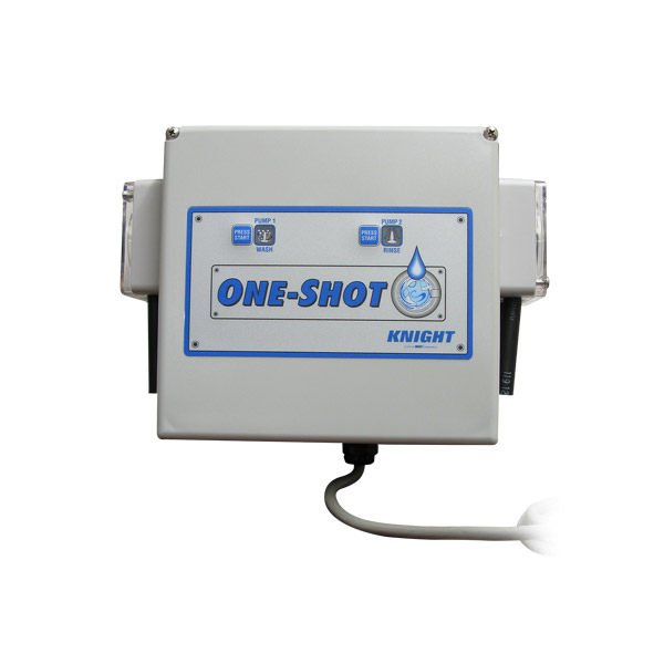 One-Shot™ Chemical Dispensing System One Shot: Two Product