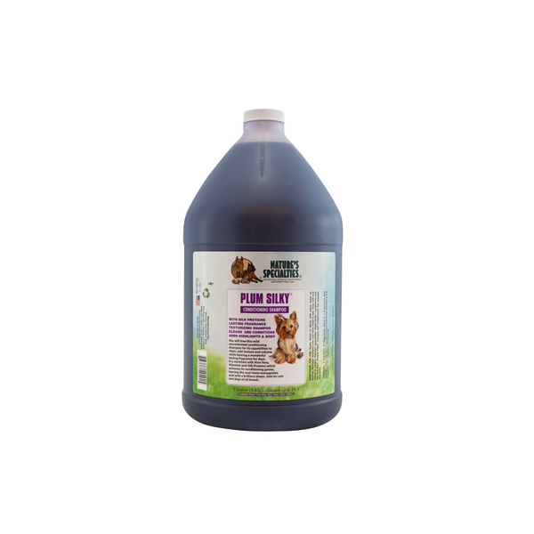 Plum Silky Pet Shampoo Gallon