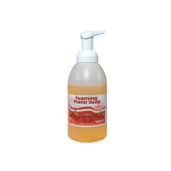 Veterinary Healthy Hands Pleasant Peach Soap 16 oz Pump Each