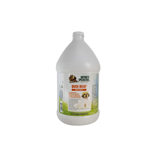Quick Relief Pet Shampoo Gallon