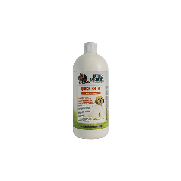 Quick Relief Pet Shampoo 32oz