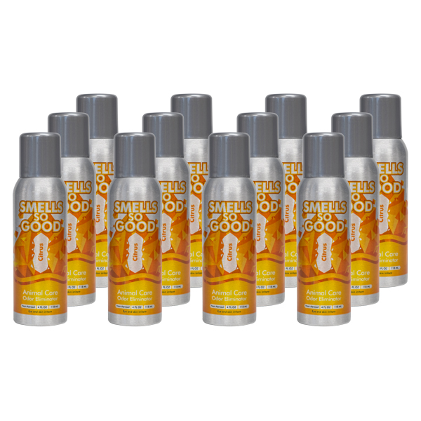 Smells So Good Citrus Odor Eliminator 12/4oz Case