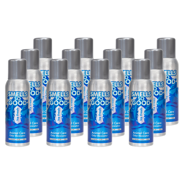 Smells So Good Icy Fresh Odor Eliminator 12/4oz Case
