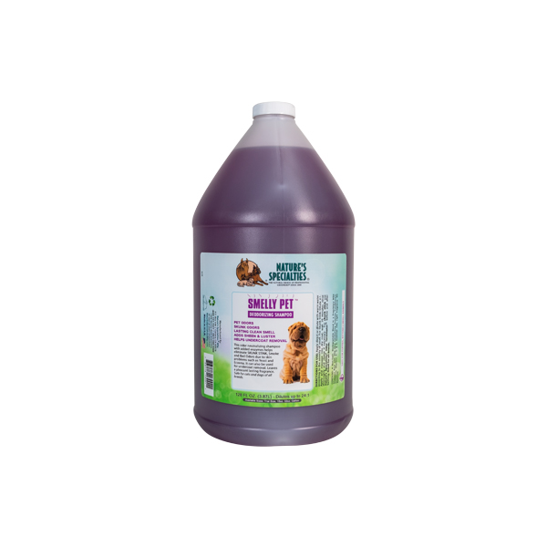Smelly Pet Shampoo Gallon