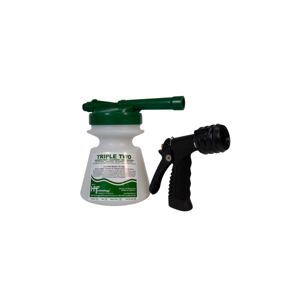 Commercial Hose End Foamer Green 2oz