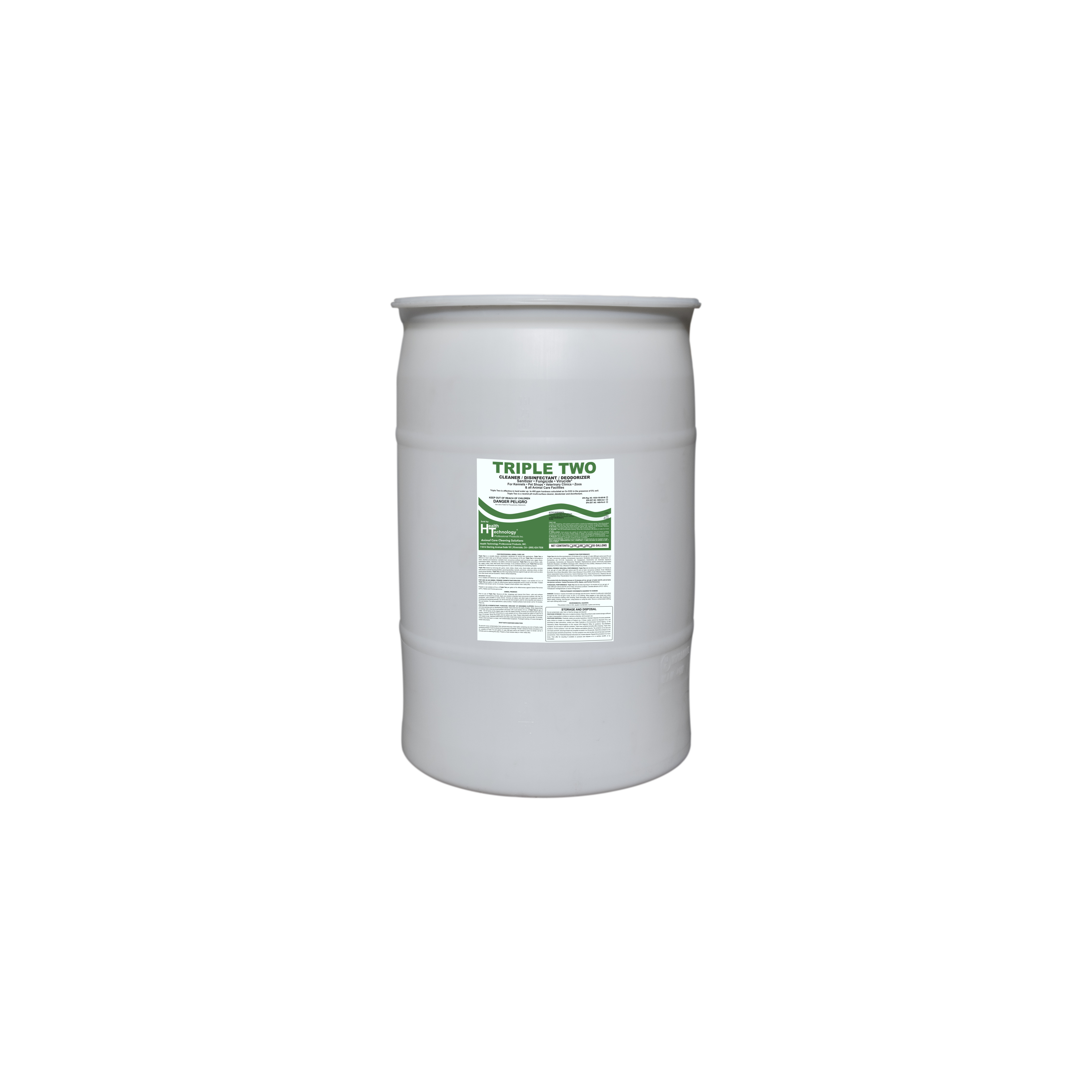 Triple Two Disinfectant Cleaner Deodorizer 30 Gallon Drum