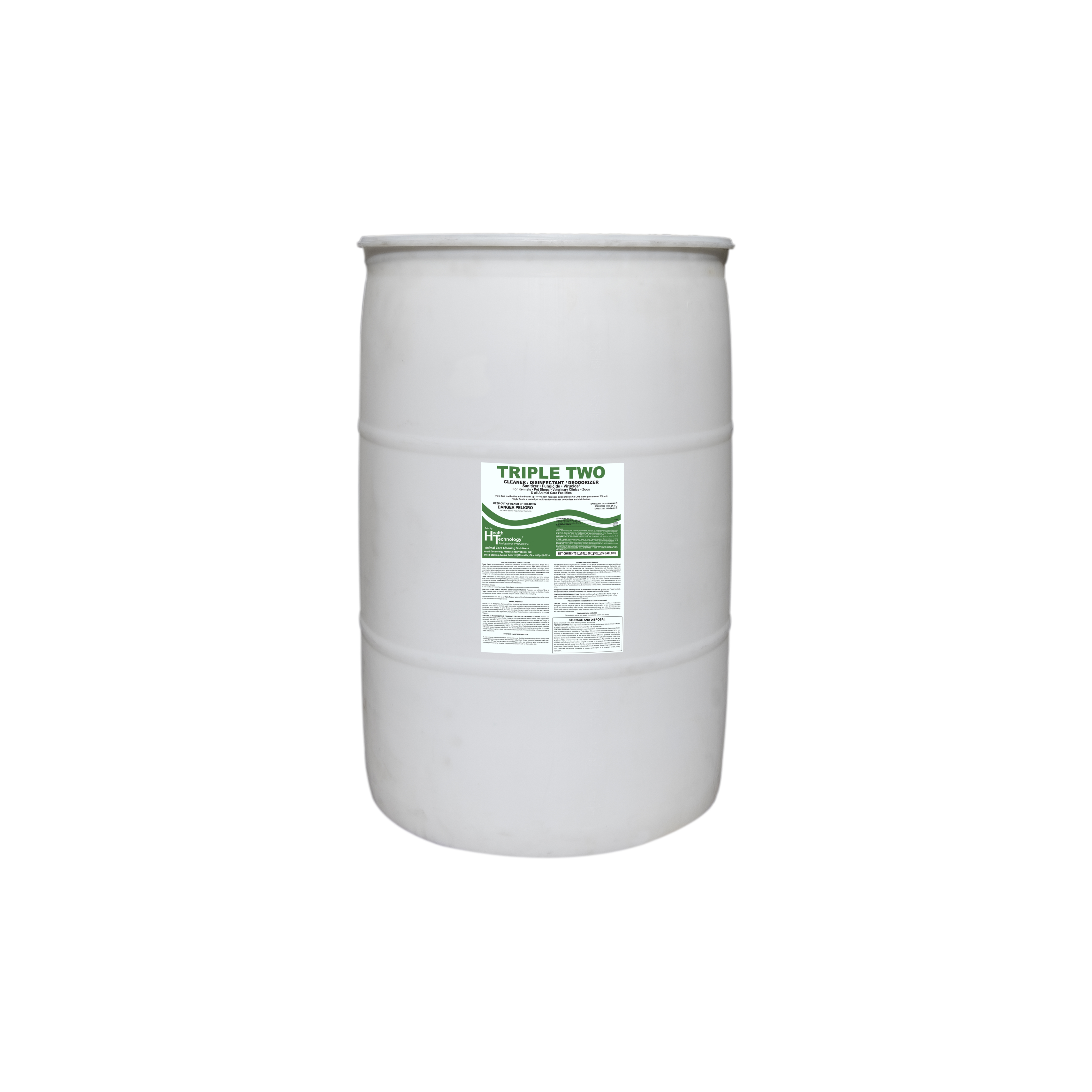 Triple Two Disinfectant Cleaner Deodorizer 55 Gallon Drum