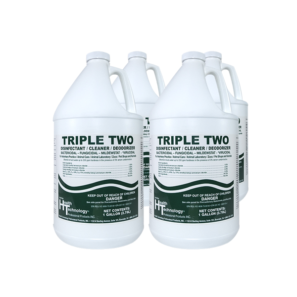 Triple Two Disinfectant Cleaner Deodorizer Case of 4 Gallons