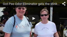 Got Pee Odor Eliminator Testimonial